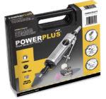 PowerPlus POWAIR0011 Levegős egyenes csiszoló készlet 16 db-os
