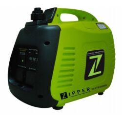 Zipper ZI-STE2000IV benzines áramfejlesztő 230V , 220 Volt , inverteres áramfejlesztő gép max teljesítmény 2,2 kW