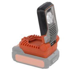 Powerplus POWDP8010 Dual power Akkumulároros LED lámpa 20/40V akku nélkül