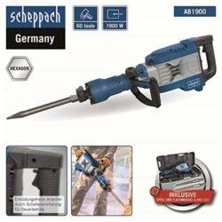 Scheppach AB 1900 bontókalapács 1900W 60 Joule!
