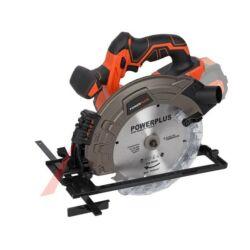 PowerPlus POWDP2525 akkumulátoros körfűrész 185mm 40V (akku és töltő nélkül)
