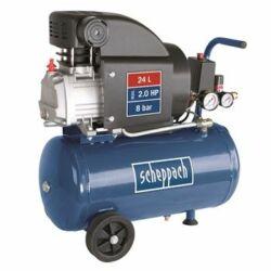 Scheppach HC25 olajkenésű kompresszor (24 hónap garancia)
