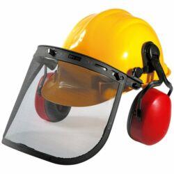 Texas profi munkavédelmi sisak fülvédővel