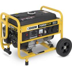 Powerplus áramfejlesztő generátor, 3000W