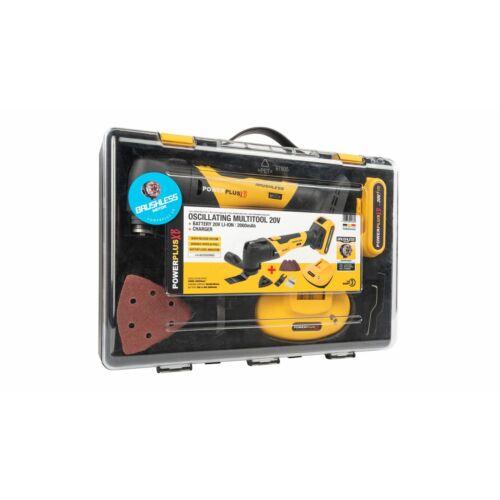 Powerplus POWXB40020 Akkumulátoros multigép szett