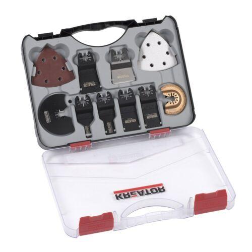 Kreator KRT990050 multicsiszoló készlet műanyag kofferben 20db-os