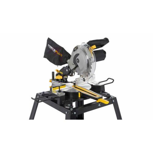 PowerPlus állványos teleszkópos gérvágó 210mm 1650W POWX07558T