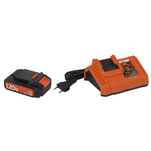 POWDP 20 Voltos akkumulátor töltővel DUAL POWER gépekhez