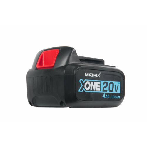 Matrix X-One 20V akkumulátor 4,0Ah Li-Ion