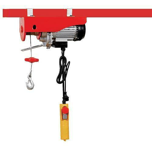 Csörlős emelő STREND PRO YT-125/250-A, 500W, elektromos