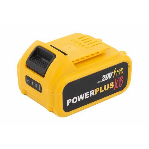 Powerplus POWXB Akkumulátor 20V 4Ah Li-Ion