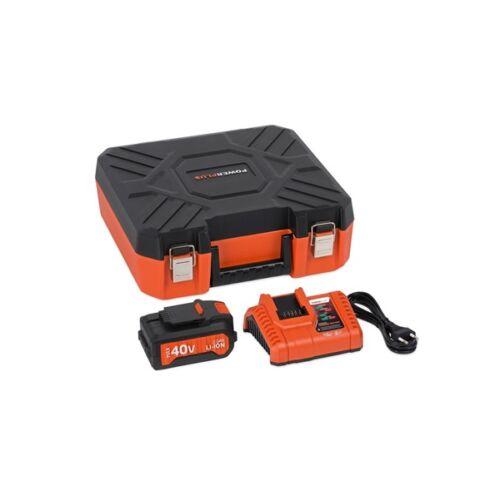 PowerPlus Dual Power akkutöltő 20V/40V + Li-Ion akkumulátor 40V POWDP9068