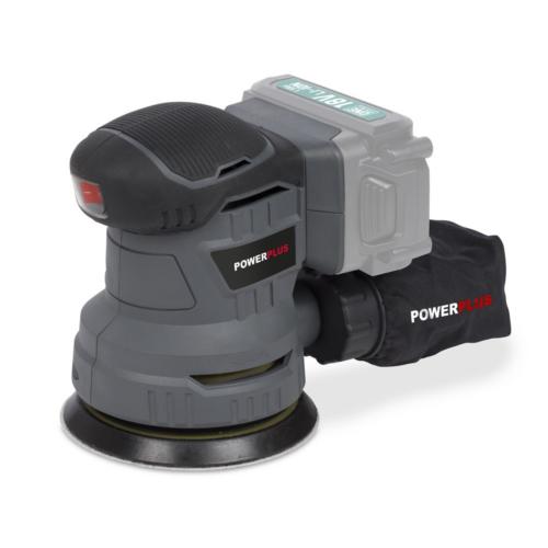 Powerplus POWEB4010 akkumulátoros excentercsiszoló 18V akku nélkül