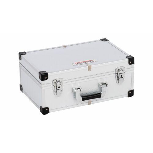 Kreator szerszámos koffer 420x265x173mm alu./ezüst KRT640260S