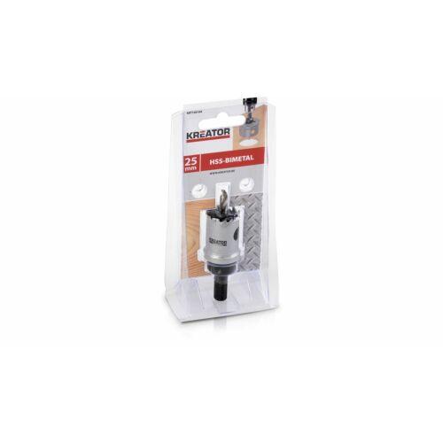 Kreator körkivágó bimetal fa/fém 25mm KRT100104