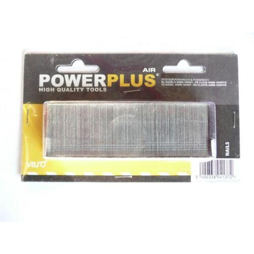 PowerPlus tűzőszeg B 25mm 1000db POWAIR0322