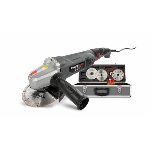 PowerPlus POWESET2 sarokcsiszoló, 900W, 125mm