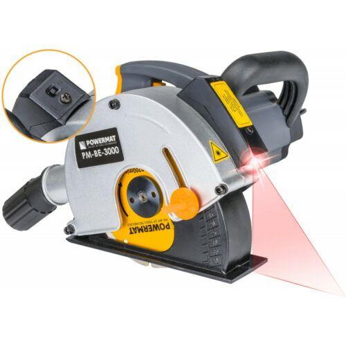Powermat 3000 W-os elektromos falhoronymaró Ø150mm + koffer