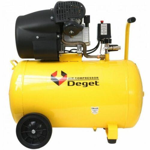 Deget 100 Literes 2 hengeres olajos kompresszor, 440L/perc
