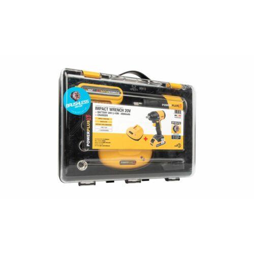 Powerplus POWXB30050 Akkumulátoros ütvecsavarozó szett