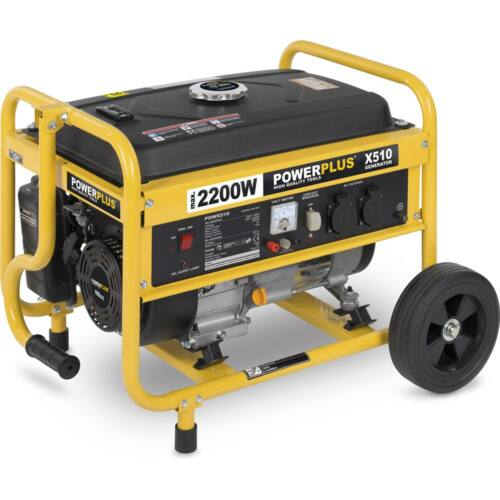 Powerplus áramfejlesztő generátor, 2200W