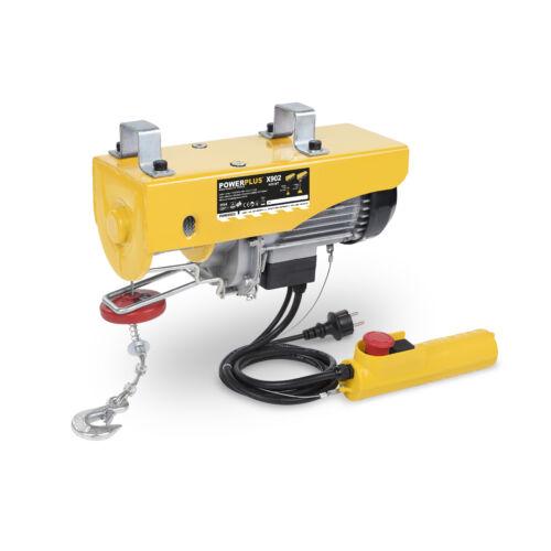 Powerplus drótköteles emelő, 1050W